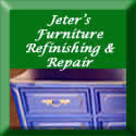Ad for Jeter's Furniture Repair & Refinishing